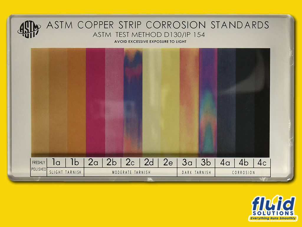 astm copper strip corrosion standards