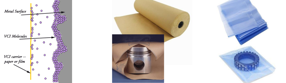 volatile corrosion on papers and plastics